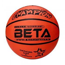 توپ بسکتبال لاستیکی سایز 5 مدل PBR5