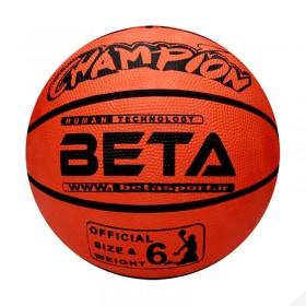 توپ بسکتبال لاستیکی سایز 6 – PBR6