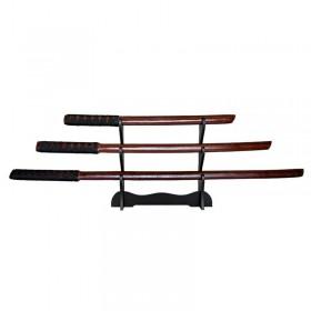 ست شمشیر دکوری چوبی