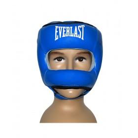 کلاه بوکس چرم مدل Face Bar
