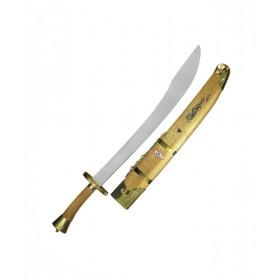 شمشیر دائو با غلاف طلایی
