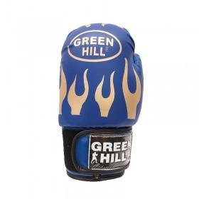 دستکش بوکس نوجوان فوم Green Hell مدل آتشی