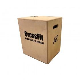 جامپ باکس چوبی مدل Crossfit