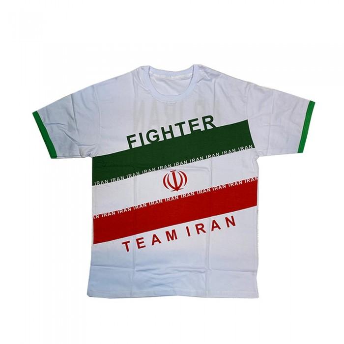 تیشرت بوکس طرح پرچم ایران