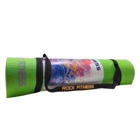 مت یوگا Rock Fitness ضخامت 6 میلی متر