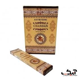 عود دست ساز با رایحه چاندان (چوب صندل) Chandan