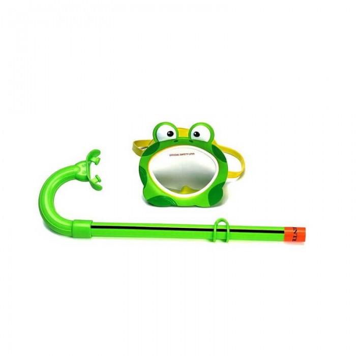 ماسک شنا لوله تنفسی دار طرح قورباغه مدل Intex 55940