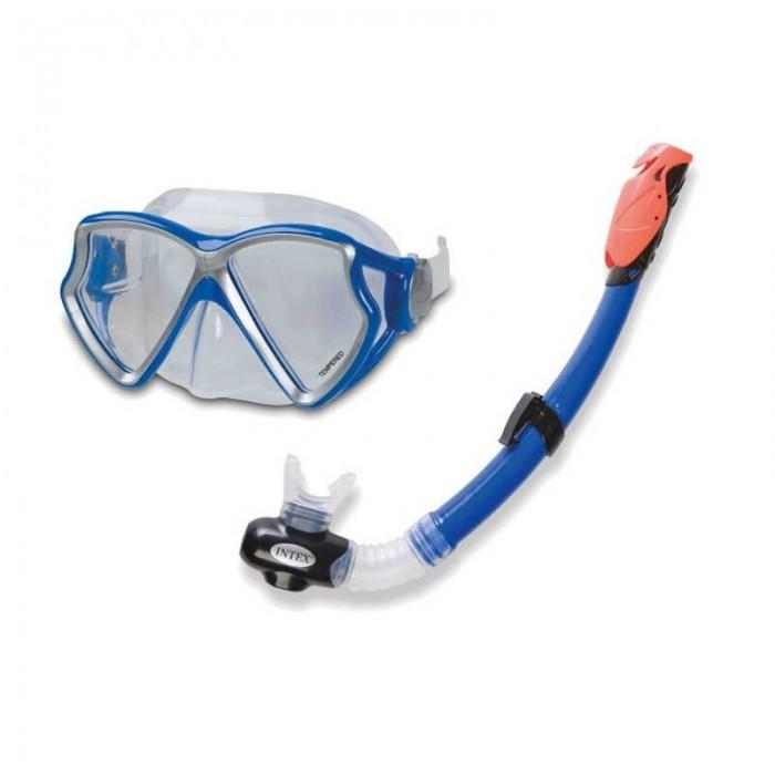 ماسک شنا لوله تنفسی دار مدل Intex 55960
