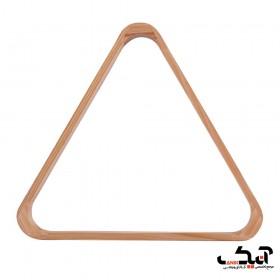 مثلث بیلیارد چوبی