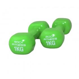 دمبل راک فیتنس مدل 2021 وزن 1 کیلوگرم بسته دو عددی