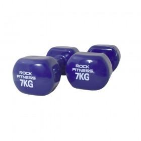 دمبل راک فیتنس مدل 2021 وزن 7 کیلوگرم بسته دو عددی