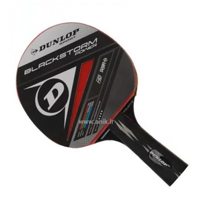 راکت تنیس روی میز Dunlop مدل Blackstorme power 200