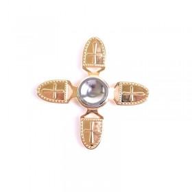 اسپینر 4 پره فلزی  / Fidget Spinner