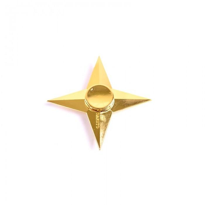 اسپینر 4 پره فلزی طرح ستاره ای / Fidget Spinnet