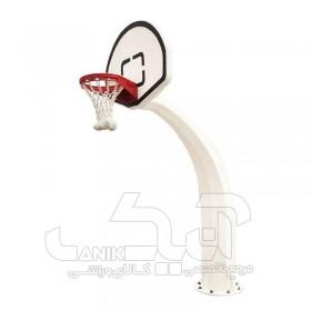 پایه بسکتبال استاندارد طرح عاج فیل