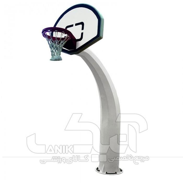 پایه بسکتبال استاندارد طرح عاج فیل ( تابلو مینی )