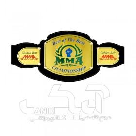 کمربند قهرمانی برنجی MMA طرح B