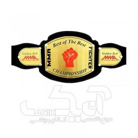 کمربند قهرمانی برنجی MMA طرح A