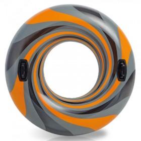 حلقه شنا طرح گرد باد مدل Intex 56277