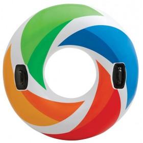 حلقه شنا رنگارنگ مدل Intex 58202