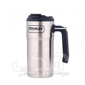ماگ دسته دار استیل 1.5 ساعته Stanley مدل Adventure Steel Travel Mug